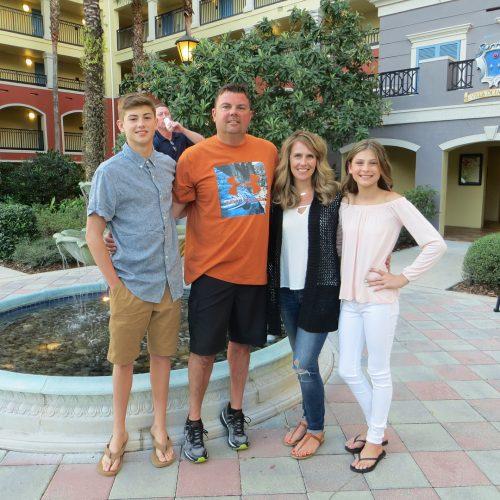Grant Marshall's family