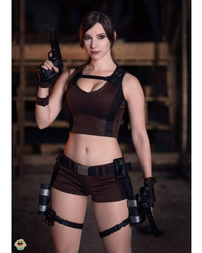 Enji Night as Lara Croft