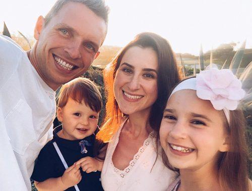 Karolina Protsenko's family