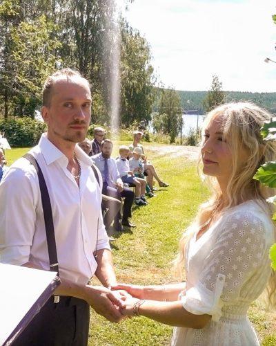 Jonna Jinton's husband, Johan Bystrom