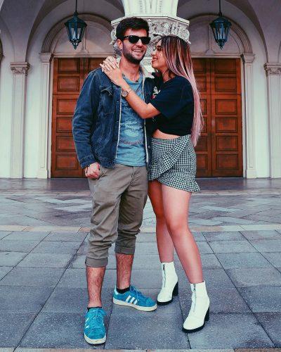 Queen Buenrostro's boyfriend, Lucas Petroni