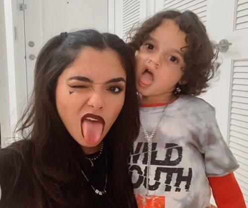 Jelian Mercado's son Mateo