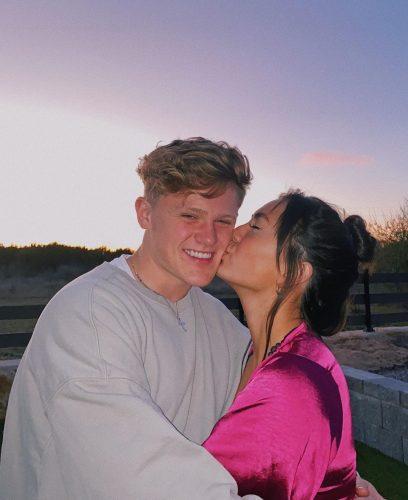 Haley and her boyfriend