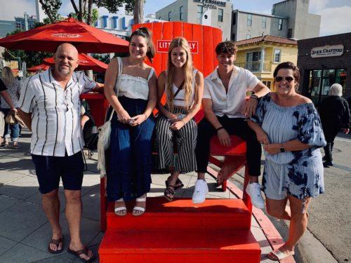 Noah Beck's family