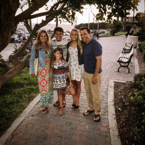 Nicolette Durazzo with her family