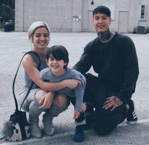 Chris Heria's Ex Girlfriend and Zen's mother