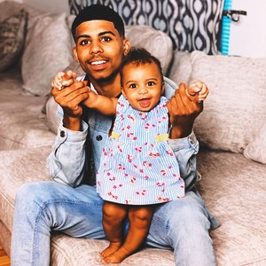 Damaury Mikula with his Daughter