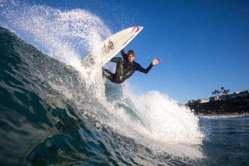 Cole Alves Surfing