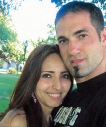Ana With her Husband
