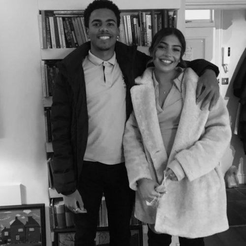 Yasmin Caramanli with her boyfriend