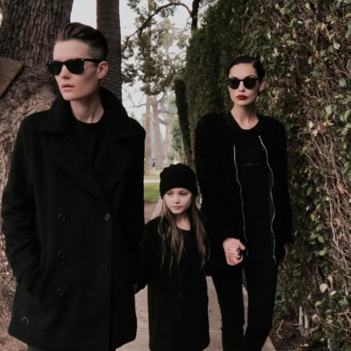 Jesse Sulivan with his wife and daughter