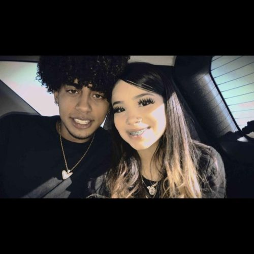 Linag0ldi with her boyfriend