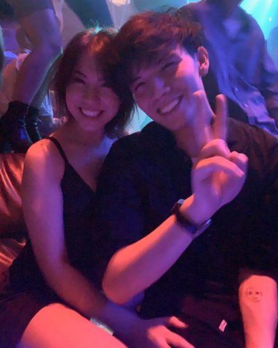 QuarterJade with her boyfriend