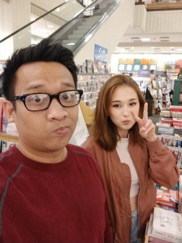 Tinakitten with her boyfriend