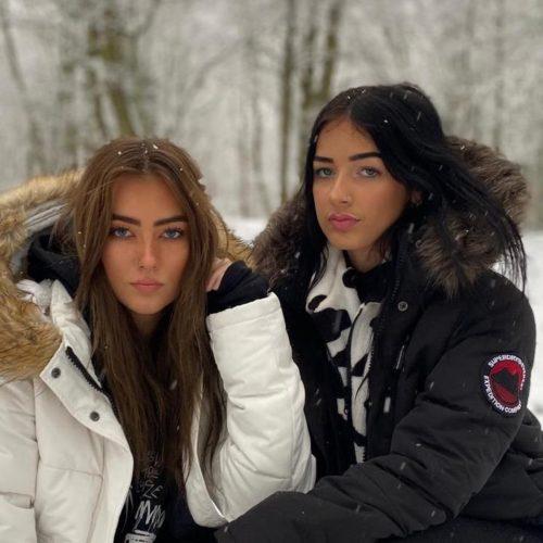 Emily with her best friend Lauren