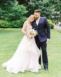 Megan with her husband