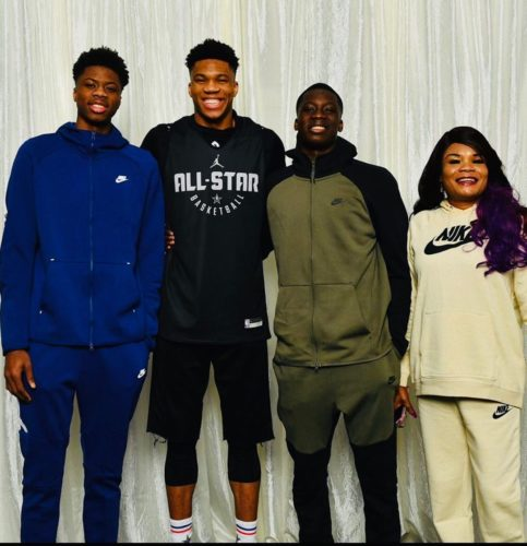 Thanasis with his family