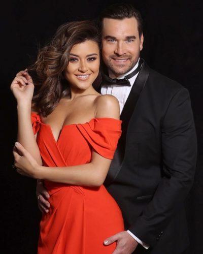 Elena with her fiance