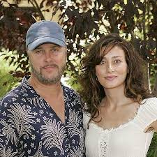 Gina with her husband