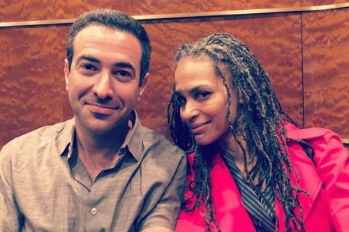 Maya with her husband
