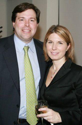 Nicole with her husband