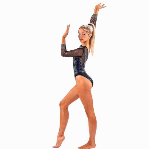 Olivia Dunne as a gymnast
