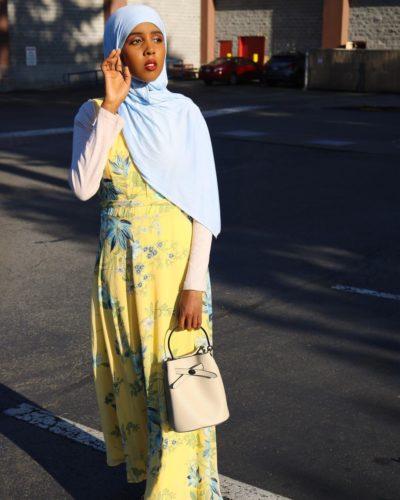 Munera Ahmed glown look on sunlight