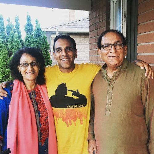 Adnan and his parents
