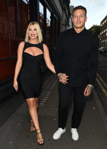 Alex Bowen with his wife
