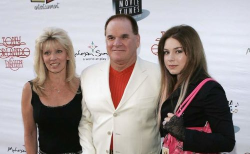 Cara Chea Rose with her father and half sister