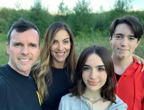Gabriela Burgos with her family aka Eh Bee Family