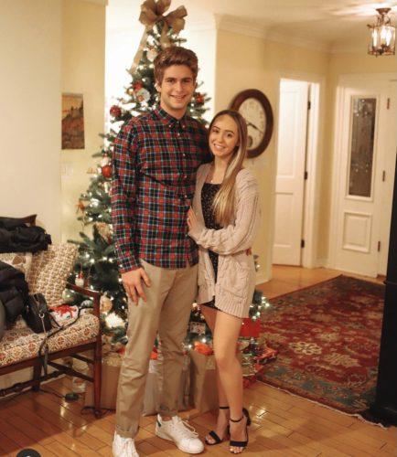 Hailey Sole with her boyfriend
