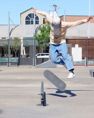 John skating
