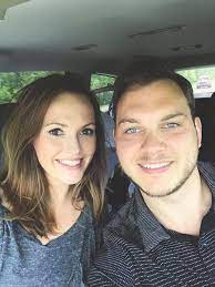 Joseph Larson with his wife