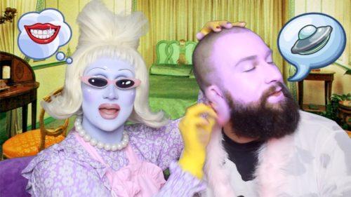 Juno Birch with her boyfriend