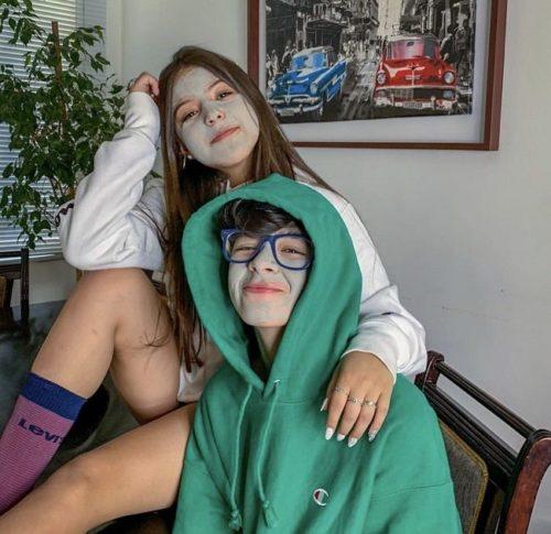 Max Valenzuela with his ex girlfriend