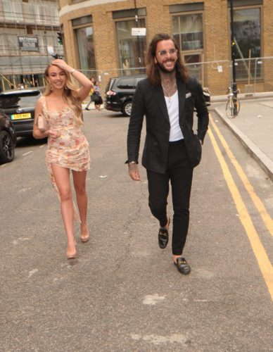 Pete Wicks with Ella Rae Wise