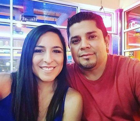 Ricardo Joel Gomez with his wife Sara