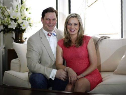 Sandra Smith with her husband