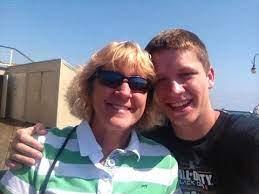 TmarTn with his mom