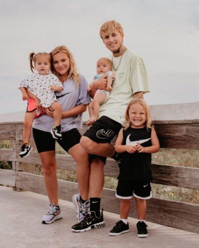 Zoe Hazel VanBrocklin with her family