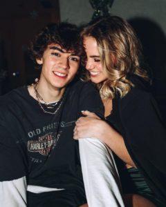Emma Brooks McAllister with her boyfriend