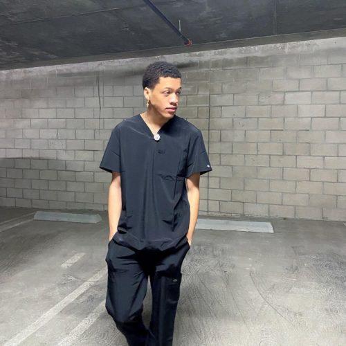 Everett Noble in black