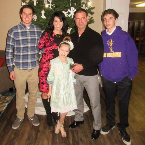 Yolanda and her family