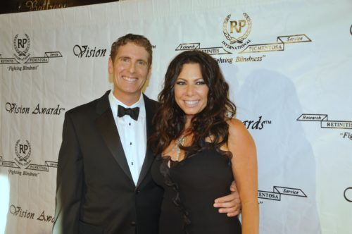 Brian Boxer Wachler with his wife