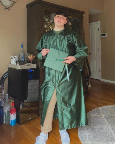 Connor Hesse graduation