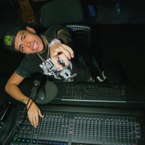 DJ Diddy as a DJ in a club