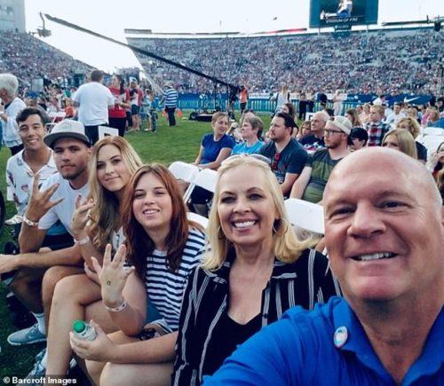Gabe Adams Wheatley family outing