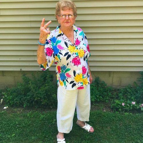 Grandma Lill cool