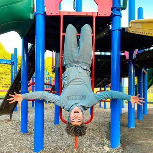 Joe Albanese upside down